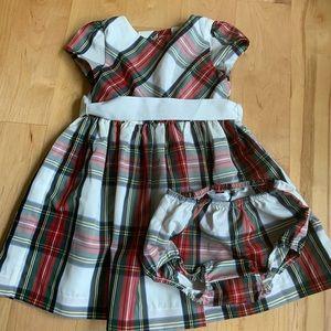 Ralph Lauren toddler girls Christmas dress